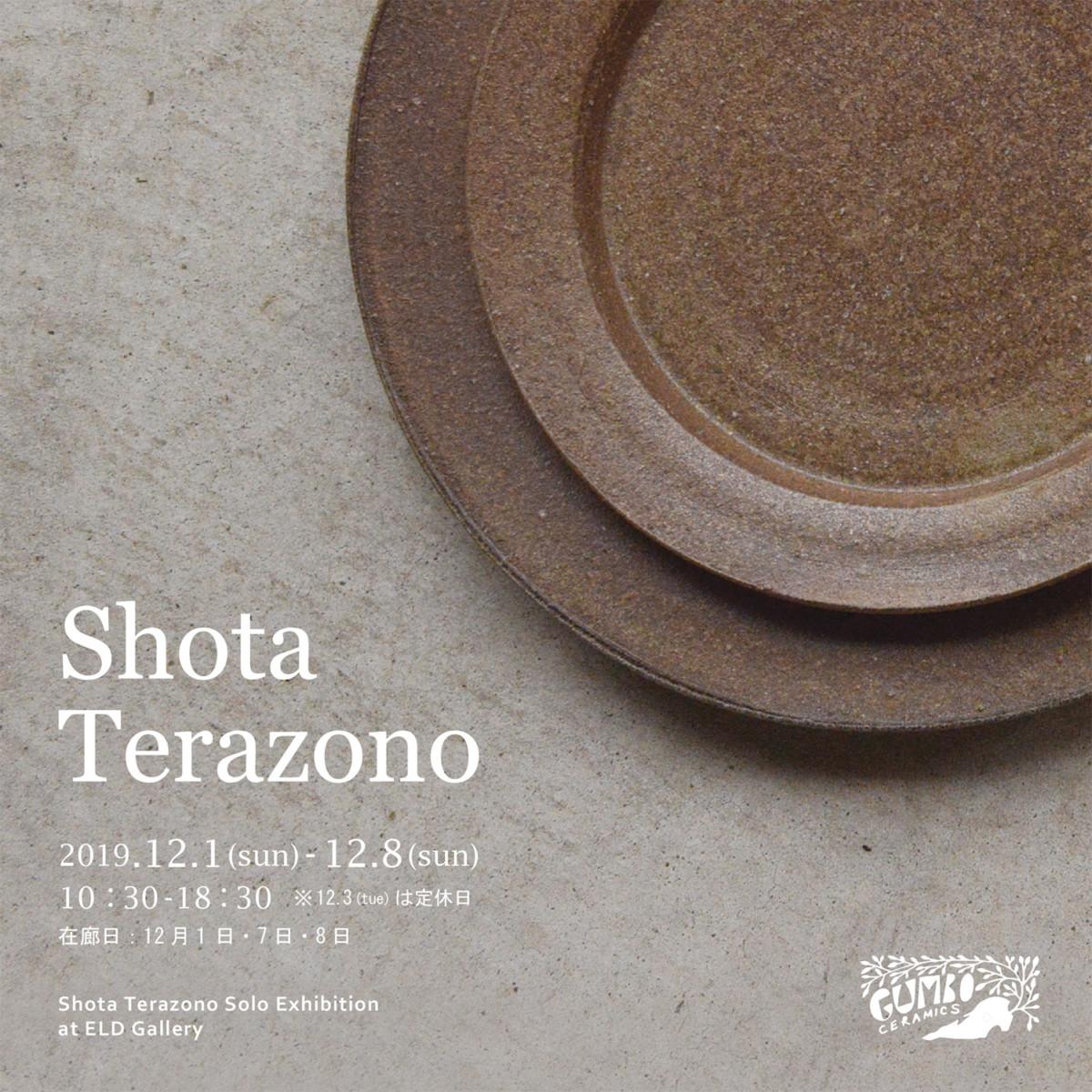 Shota Terazono solo Exhibition 2019.12.1(sun)-8(sun)